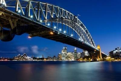 Sydney Harbour Bridge and Sydney Opera House