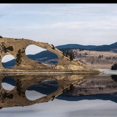 Trap Lake Landscape