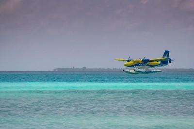 Landing beautiful sea