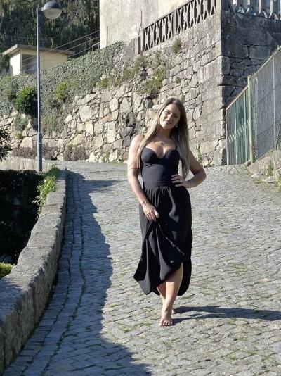 Sandra no Parque de São Roque