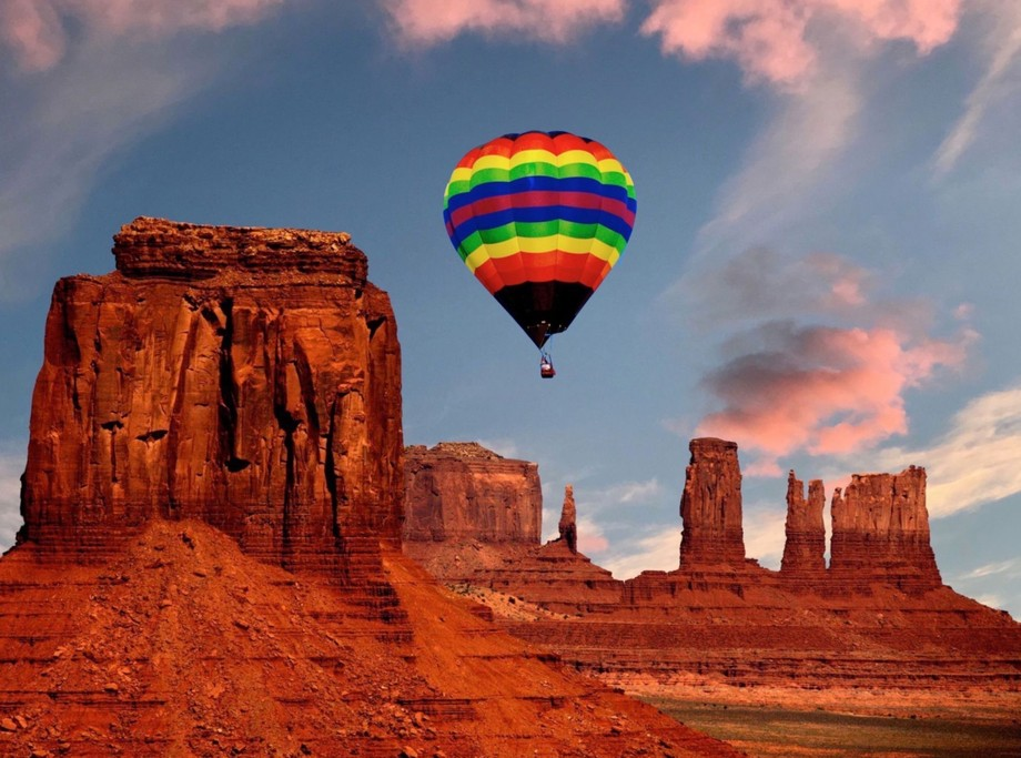 This photo is taken in Monument Valley