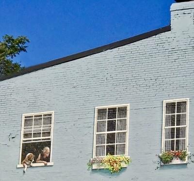 Wall Art:Georgetown:Looking Up II