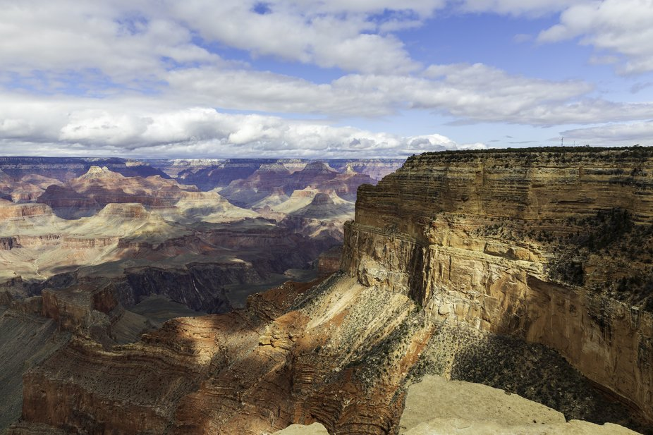 Spent a few days at the Grand Canyon. I took several shots but this just happens to be one of my ...