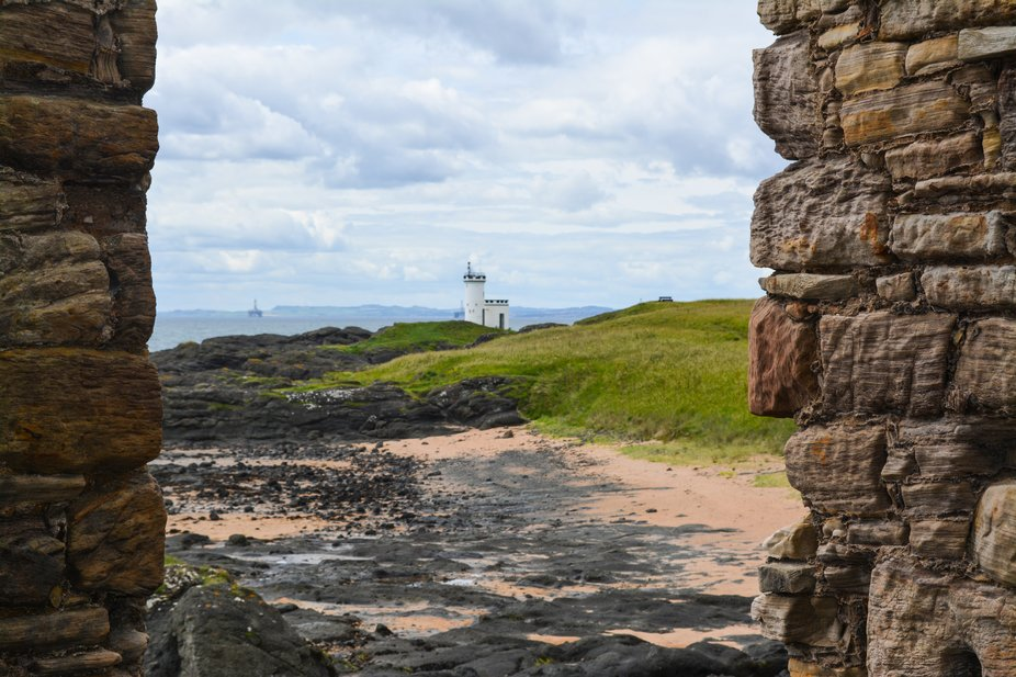 In the 1770s the Lady's Tower was built in Ruby Bay, on the east side of Elie Ness, as a...