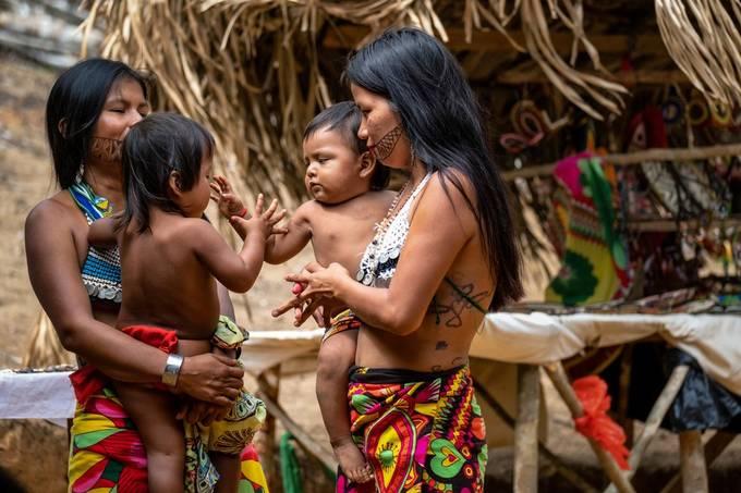 Parque nacional Chagres / Pueblo Embera - Purú viqquira - Panama (march 2019)