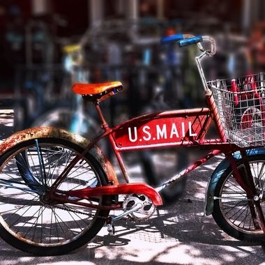 US Mail Bike