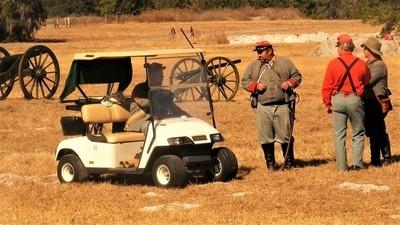 Confederate Golf Cart
