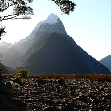 Mitre Peak Fiordland N.Z.