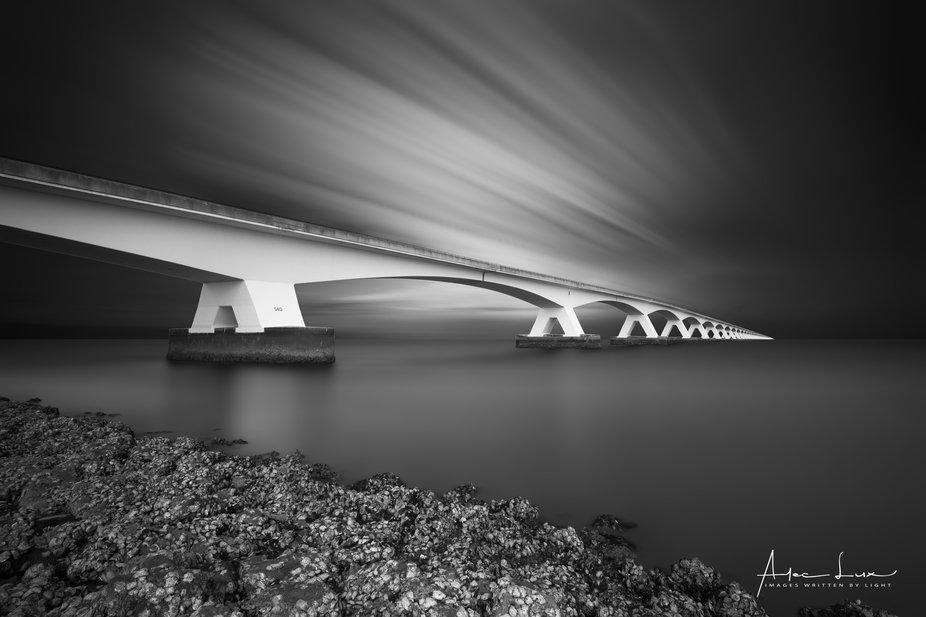 It's the second time I went to the Zeeland bridge in a short period. I wanted some more ...