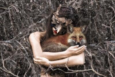 The Owl & The Fox ~ Self Portrait