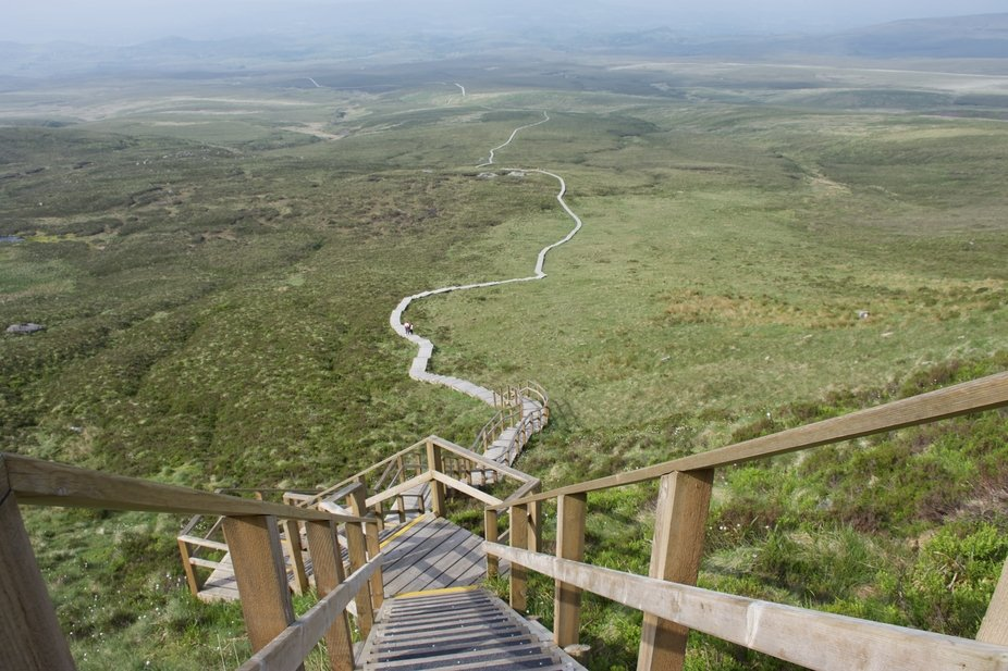 Cuilcagh Legnabrocky Trail. Northern Ireland.