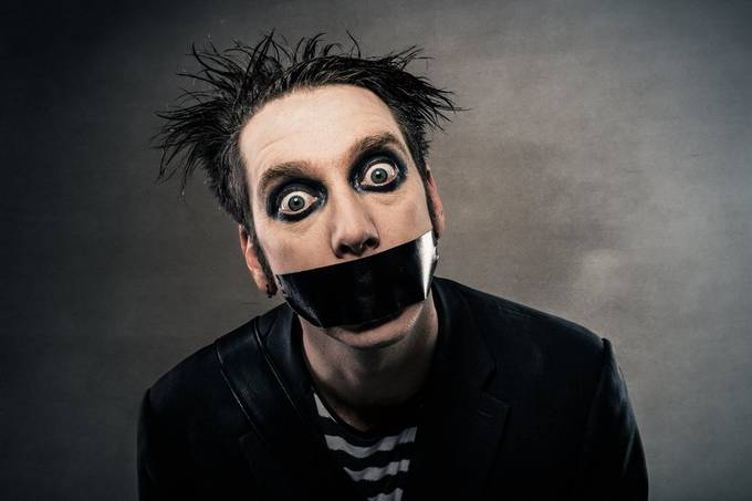 Tape Face by ADZyne - Social Exposure Photo Contest Vol 21