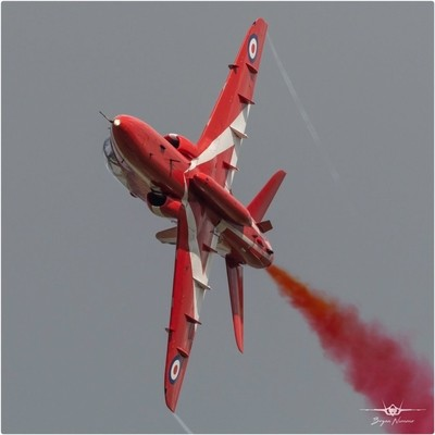Red 7 Jon Bond  Returning to RAF Scampton 9-4-19