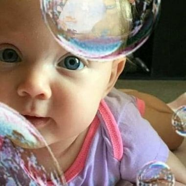 Look inside the bubble !!