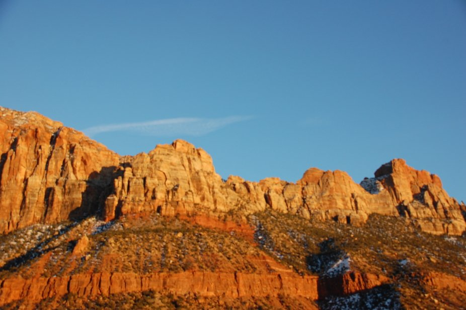 These pictures are from Zion National Park Utah, in the month of March 2019.  We had a wonderful ...