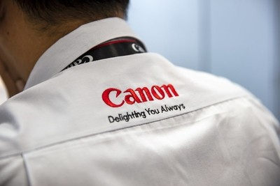 Canon Technician Working