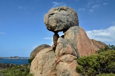 Rock On A Rock,Lucky Bay,Cape Le Grand National Park,Esperance, Western Australia