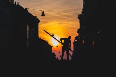 Sunset worker