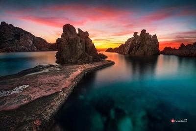 Sunset Sardinia Italy