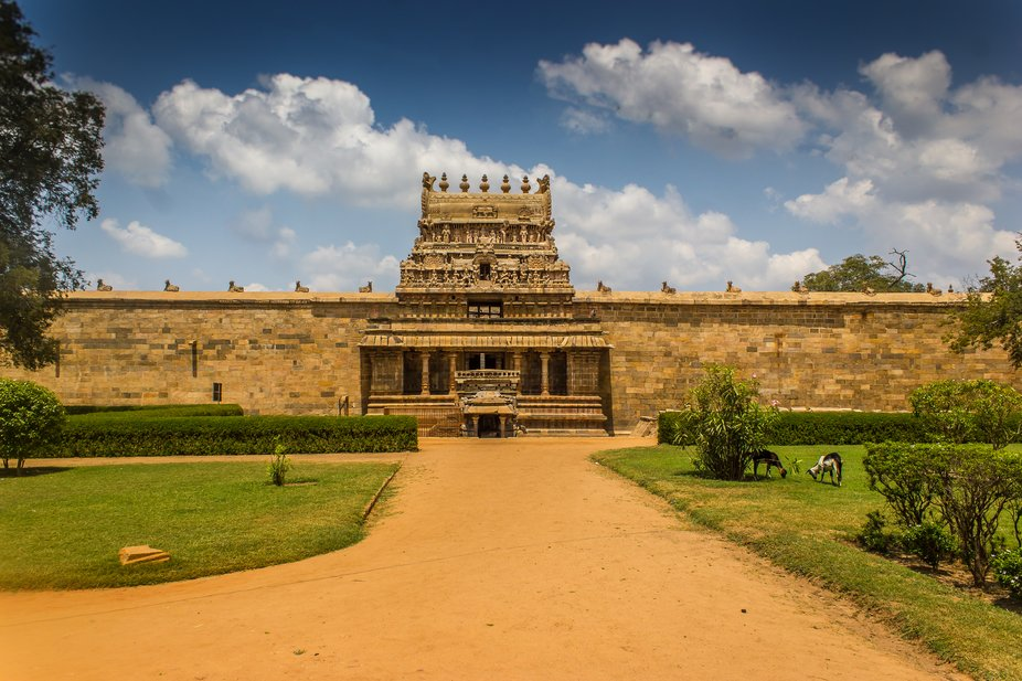 Airavatesvara Temple is a Hindu temple of Dravidian architecture located in the town of Darasuram...