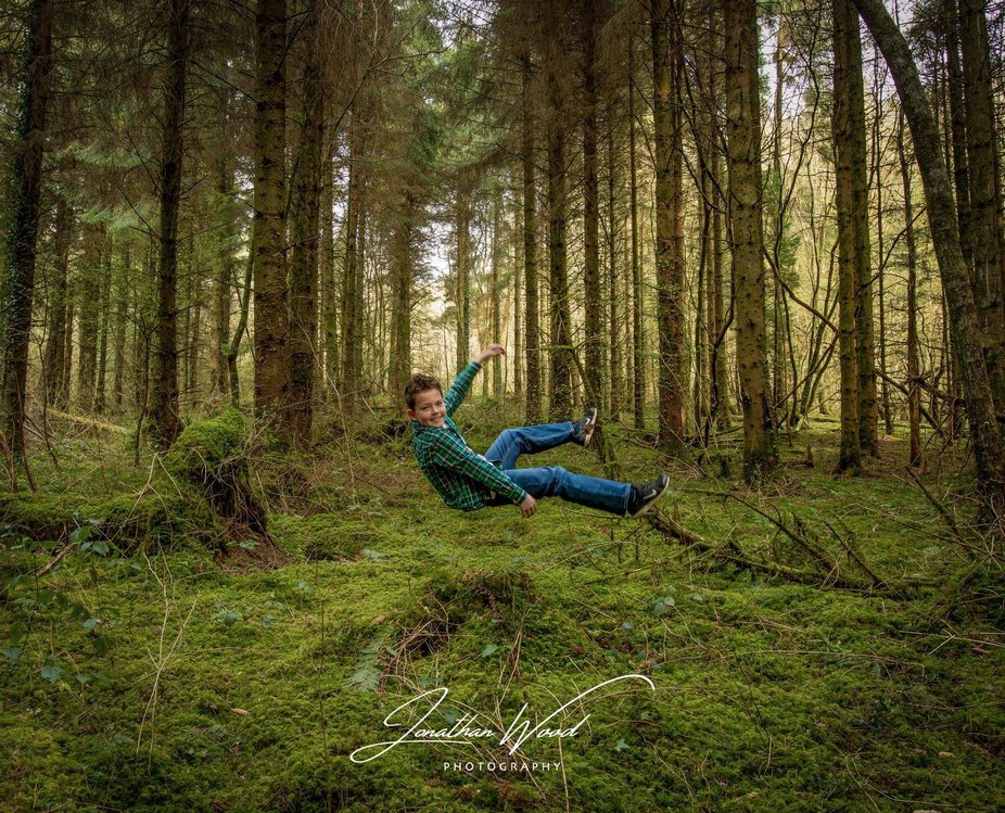 Trying some levitation, my son loved it, not too bad fir a first attempt