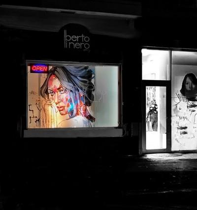 Wynwood: Street art at the beauty salon