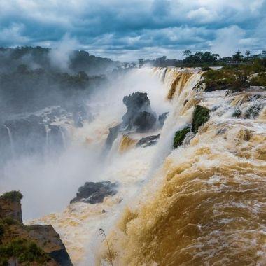 Iguazu waterfall, Argentina.