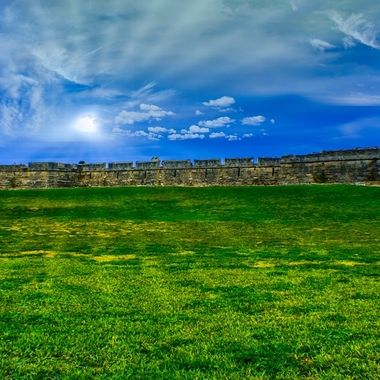 oldest and largest masonry fort in the continental United States