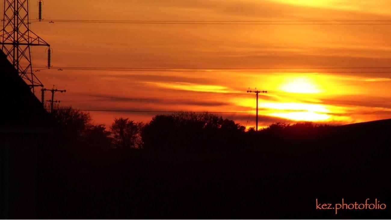 Sunset at Elliscales