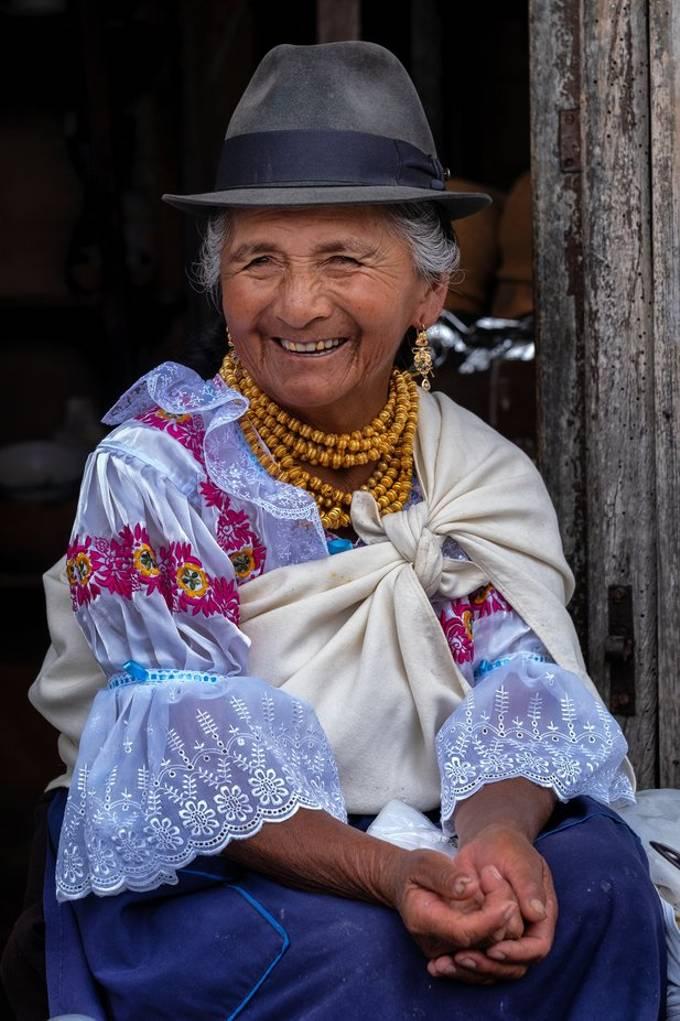 Otavalo street market - Ecuador march 2019