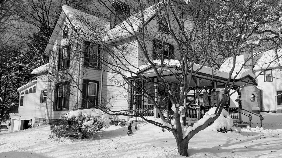 Historic house in Chardon Ohio