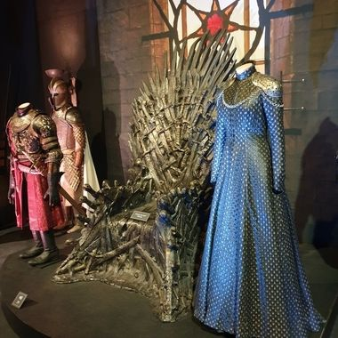 Image captured at the Game of Thrones travelling exhibition, Belfast, Northern Ireland.