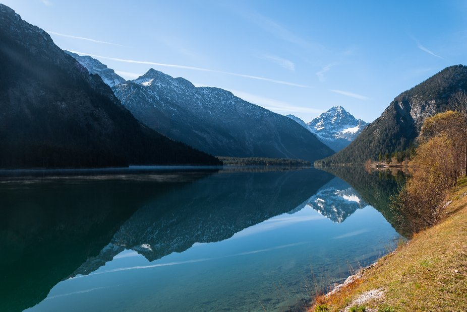 A morning at Plansee, Austria