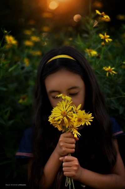 Smell the wild flowers