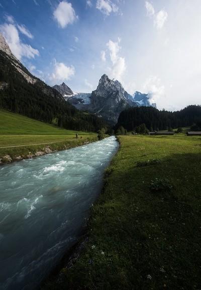 Alpine relief