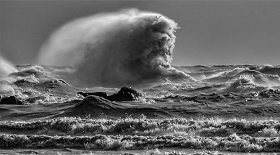 Face in the Waves