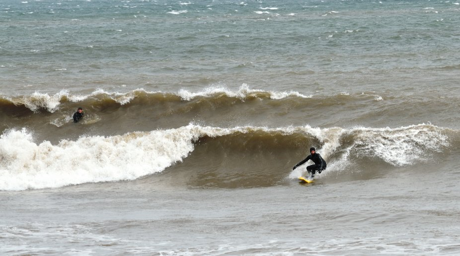 Surfs up Dude!