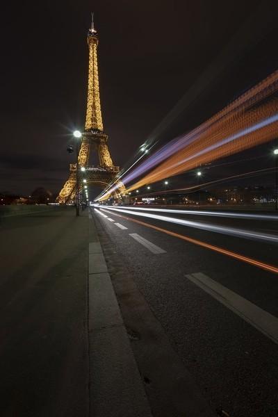 Busy Road to The Eiffel Tower Paris  Bob Riach Jigsaw Photography LTD