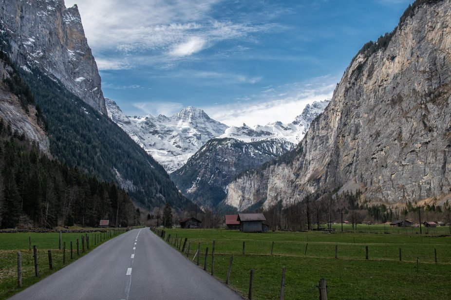 Drive to the Swiss Alps and the top of the world