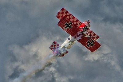 Red Baron ascending