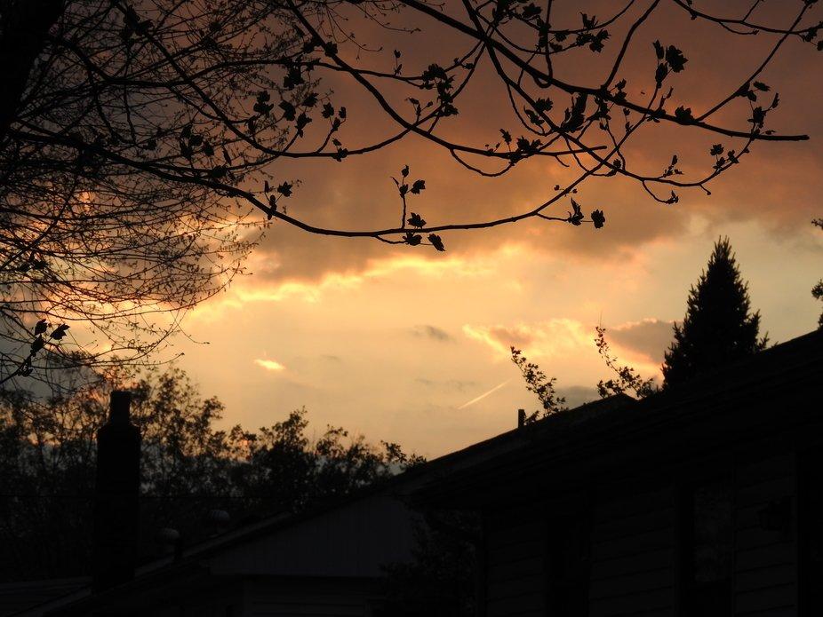 Sunset & Jetstream