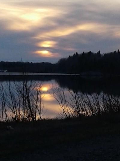 Dusk @ Wabigoon Lake