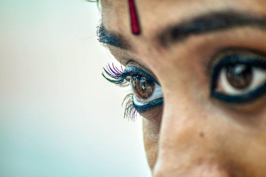 Eyes that speaks.