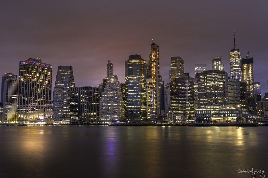Early morning in Manhattan