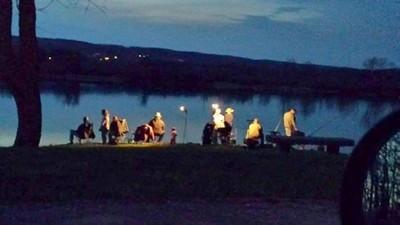 Family Night Fishing
