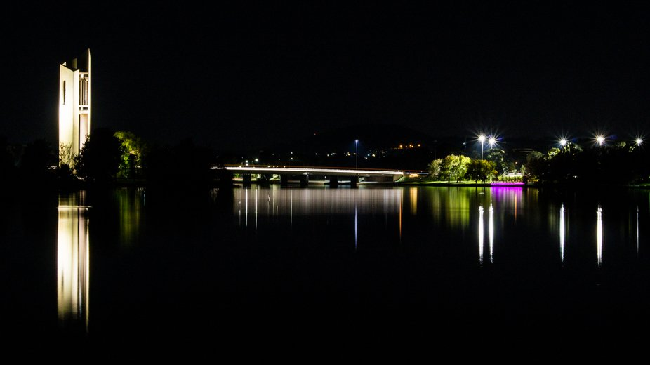 One of my favourite locations to photograph, the National Carillion in Canberra. Perfect night to...