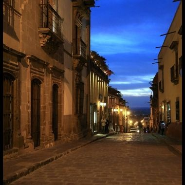 Evening in San Miguel De Allende