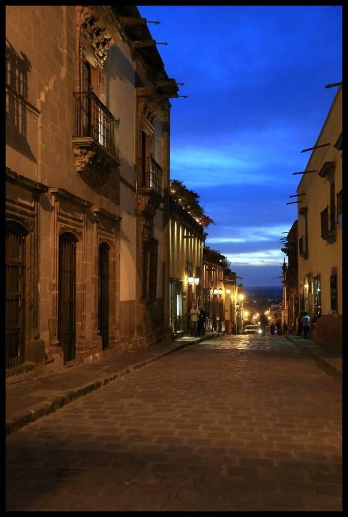 Evening in San Miguel De Allende