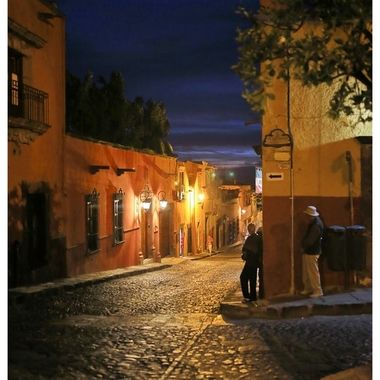 This is the location of one of our favorite little restaurants in San Miguel