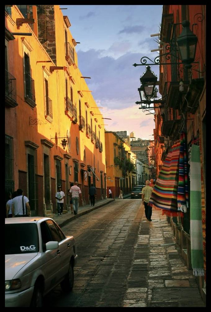 Sunset in San Miguel De Allende